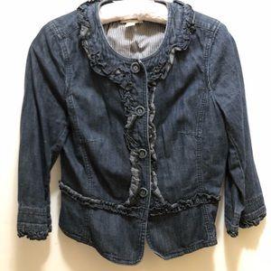 Loft jeans jacket. 8P